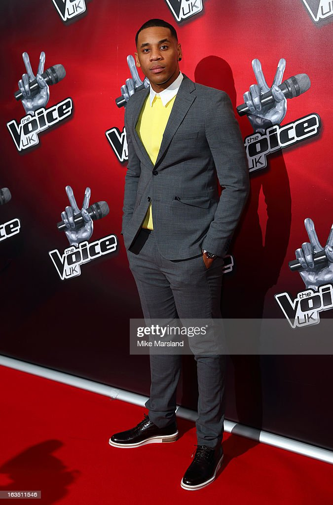 Reggie Yates attends a photocall to launch the second series of The Voice at Soho Hotel on March 11, 2013 in London, England.