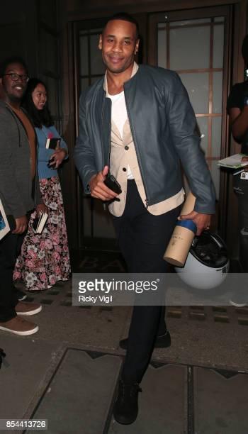 Reggie Yates attends BAFTA TV Preview Gunpowder on September 26 2017 in London England