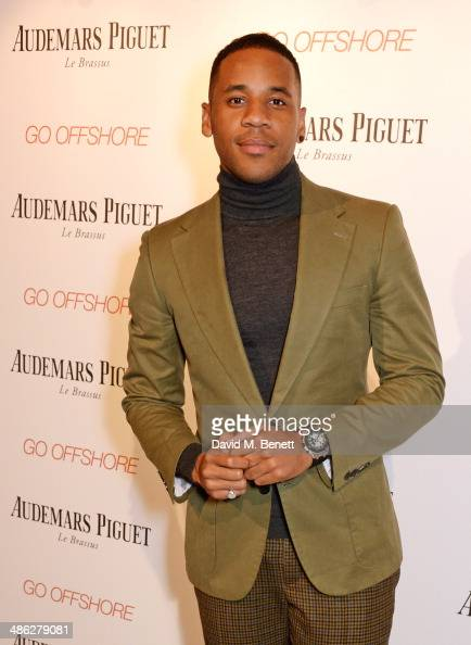 Reggie Yates attends the Audemars Piguet Royal Oak Offshore 42mm Party at Victoria House on April 23 2014 in London England