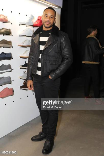 Reggie Yates attends the launch of the GQ Style Autumn/Winter issue at 18montrose Kings Cross on October 11 2017 in London England