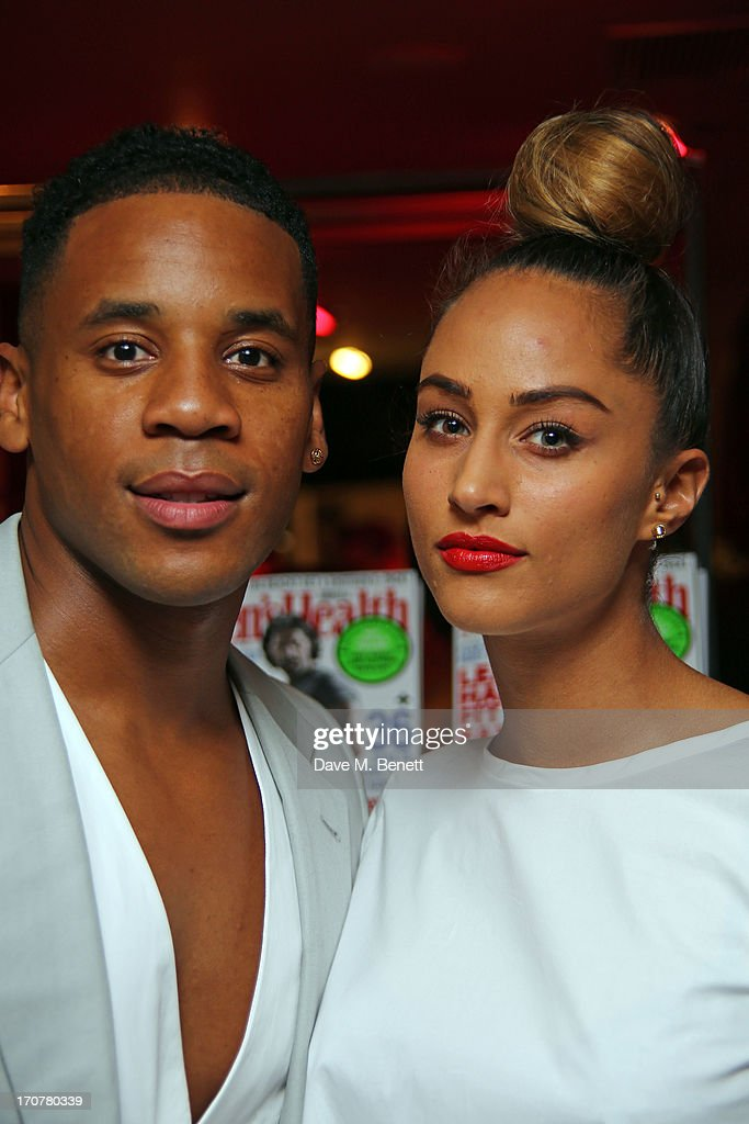 Reggie Yates attends the Men's Health Oliver Spencer Liberty Party at Liberty on June 17 2013 in London England