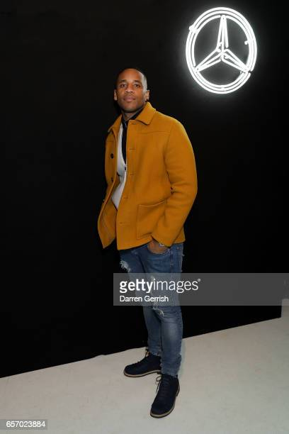Reggie Yates attends the MercedesBenz #MBCOLLECTIVE Chapter 1 launch party with M I A and Tommy Genesis on March 23 2017 in London United Kingdom