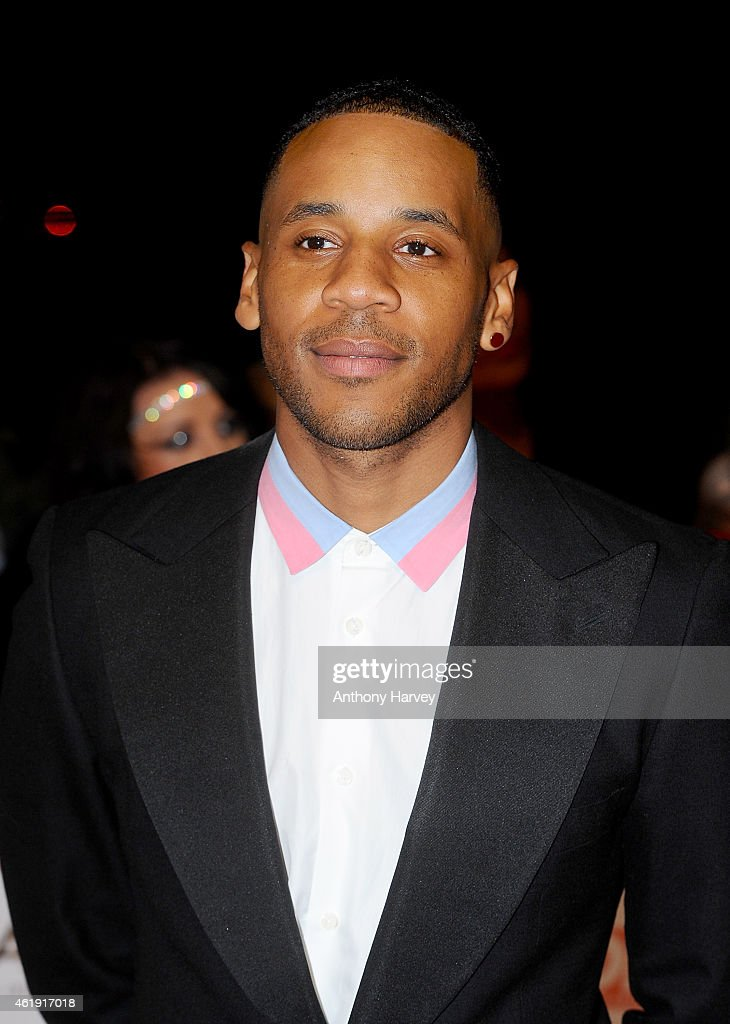 Reggie Yates attends the National Television Awards at 02 Arena on January 21 2015 in London England