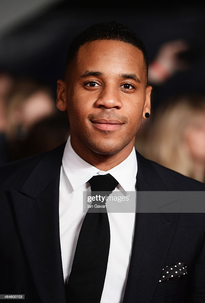 Reggie Yates attends the National Television Awards at 02 Arena on January 22 2014 in London England