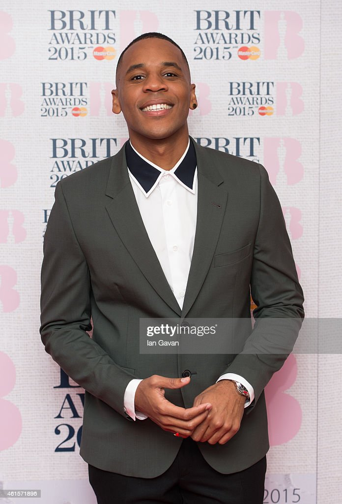 Reggie Yates attends the nominations launch for The Brit Awards 2015 at ITV Studios on January 15 2015 in London England