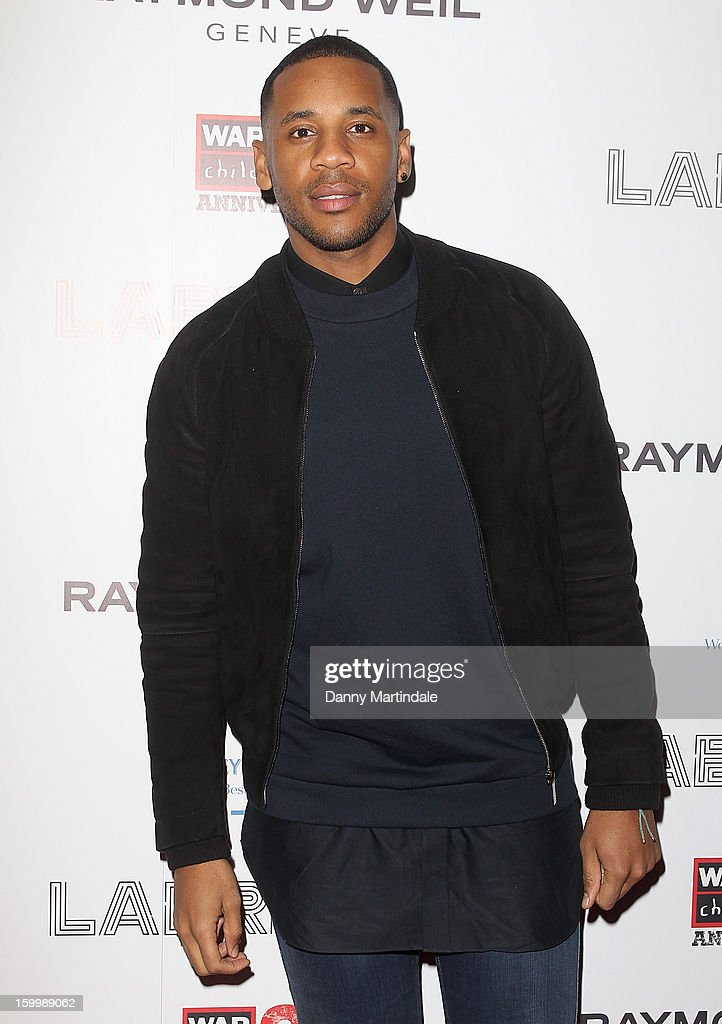 <a gi-track='captionPersonalityLinkClicked' href=/galleries/search?phrase=Reggie+Yates&family=editorial&specificpeople=243031 ng-click='$event.stopPropagation()'>Reggie Yates</a> attends the Raymond Weil pre-Brit Awards dinner and 20th anniversary celebration of War Child at The Mosaica on January 24, 2013 in London, England.