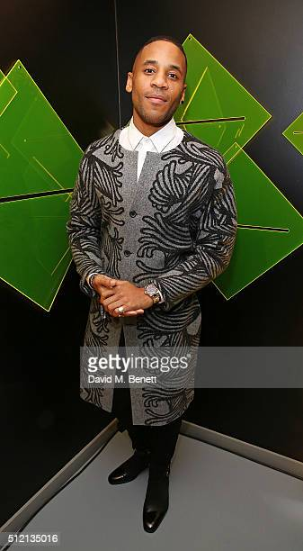 Reggie Yates attends the Universal Music BRIT Awards AfterParty 2016 in collaboration with Soho House and BACARDI on February 24 2016 in London...