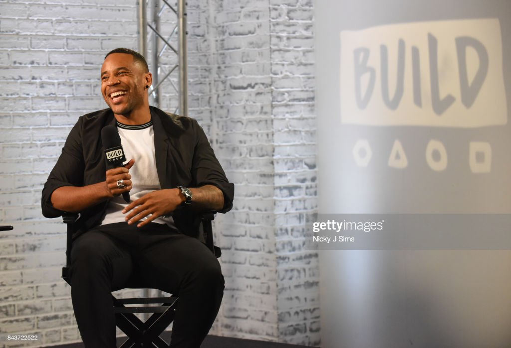 Reggie Yates during a BUILD series event at BUILD Studio London on September 7, 2017 in London, England.