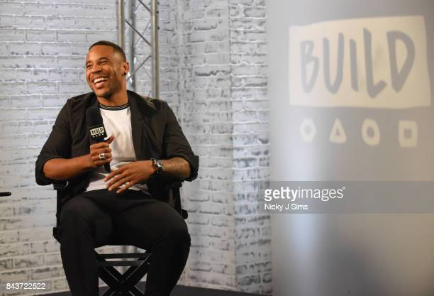 Reggie Yates during a BUILD series event at BUILD Studio London on September 7 2017 in London England