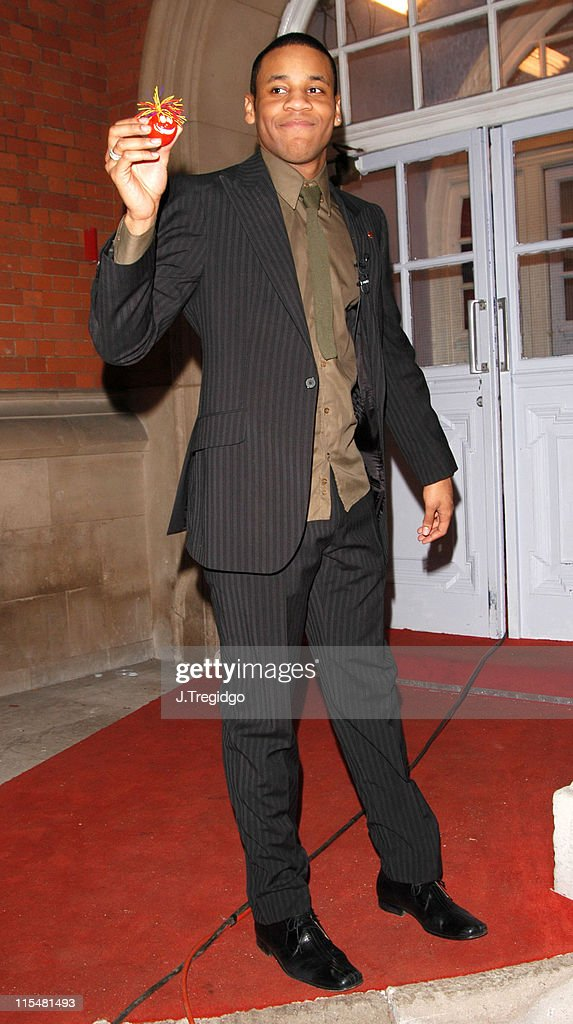 Reggie Yates during Comic Relief Does Fame Academy 2005 - Reggie Yates Eviction at Lambeth College in London, Great Britain.