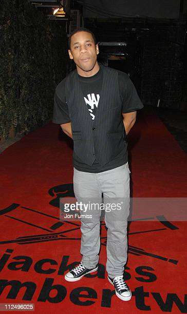 Reggie Yates during 'Jackass Number Two' London Premiere After Party in London Great Britain