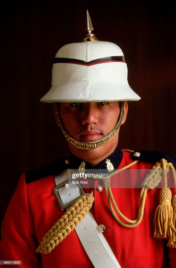 Regiment Band Member in Full Dress