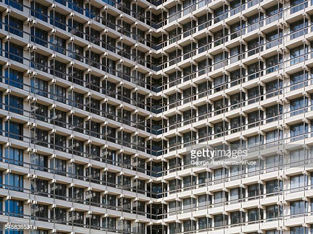Regimented office building windows