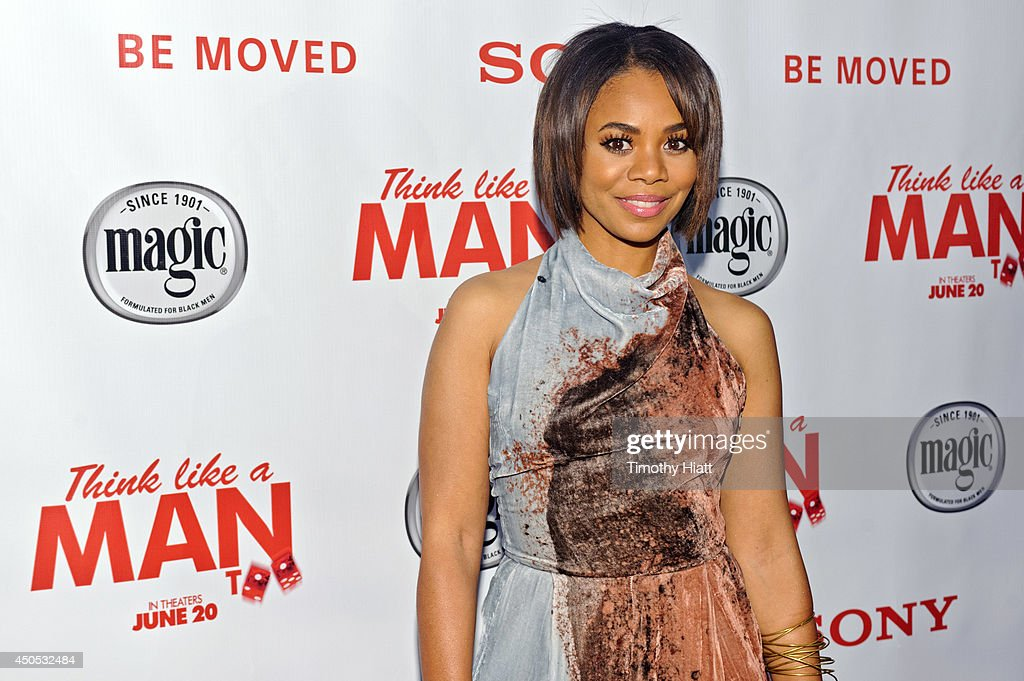 <a gi-track='captionPersonalityLinkClicked' href=/galleries/search?phrase=Regina+Hall&family=editorial&specificpeople=4509171 ng-click='$event.stopPropagation()'>Regina Hall</a> attends a screening of 'Think Like A Man Too' at the Showplace Icon Theater on June 12, 2014 in Chicago, Illinois.