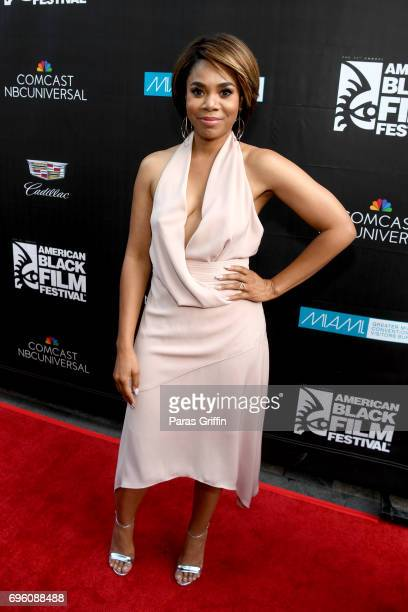 Regina Hall attends the 'Girls Trip' red carpet screening during ABFF 2017 at Olympia Theater At Gusman Hall on June 14 2017 in Miami Florida