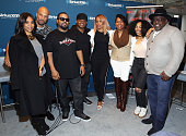 Regina Hall Common Ice Cube Sway Calloway Eve Heather B Tracy G and Cedric the Entertainer attend SiriusXM's 'Town Hall' With The Cast Of 'Barbershop...