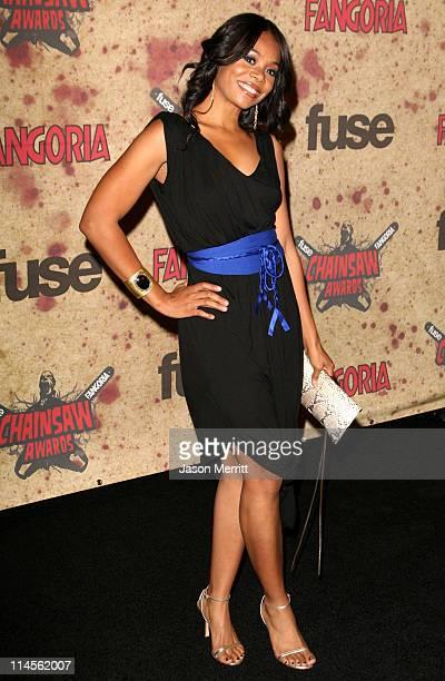 Regina Hall during Fuse Fangoria Chainsaw Awards Arrivals at Orpheum Theatre in Los Angeles California United States