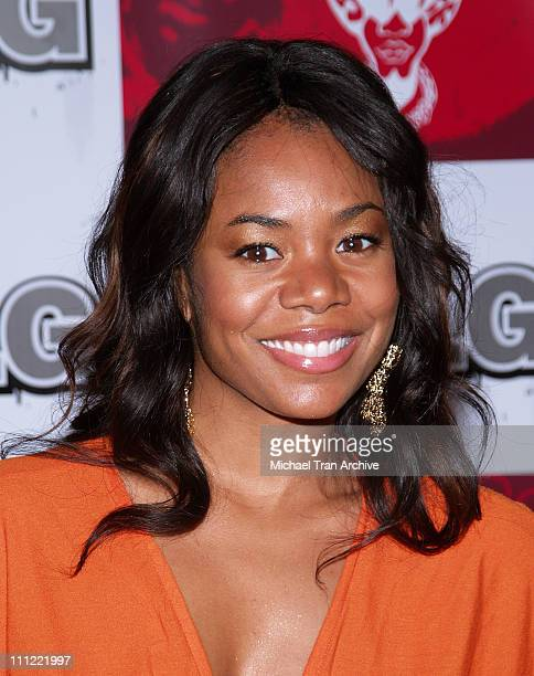 Regina Hall during LG Jermaine Dupri Launch New Fusic Arrivals at Day After Nightclub in Hollywood California United States