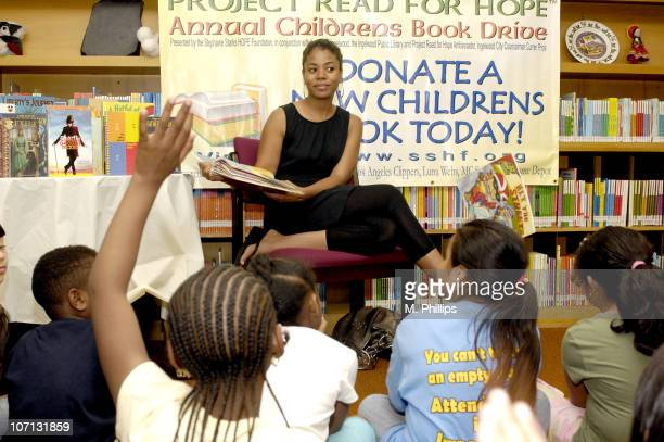 Regina Hall during Regina Hall and Joey Wells Join SSHF's Project Read for HOPE Celebrity Read Aloud Tour Supported by LAX Hyundai and 1023 FM KJLH...