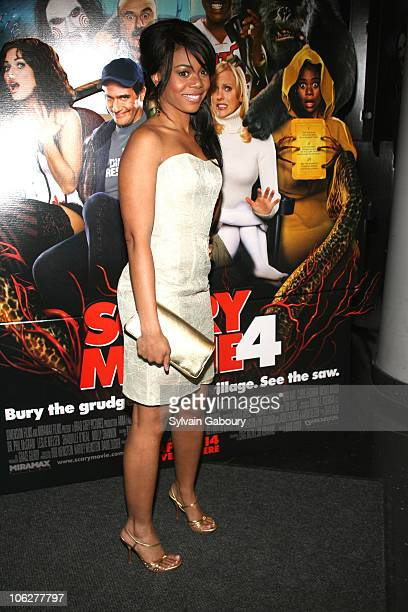 Regina Hall during Special Red Carpet Screening of Dimension Films' 'Scary Movie 4' arrivals at AMC Loews Lincoln Square Theater in New York New York...