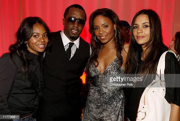 Regina Hall Sean 'Diddy' Combs Sanaa Lathan Kidada Jones