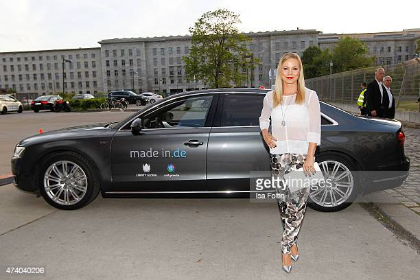 Regina Halmich attends the made inde Award 2015 on May 19 2015 in Berlin Germany