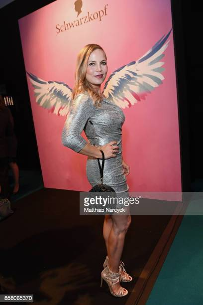 Regina Halmich attends the Tribute To Bambi after show party at Station on October 5 2017 in Berlin Germany