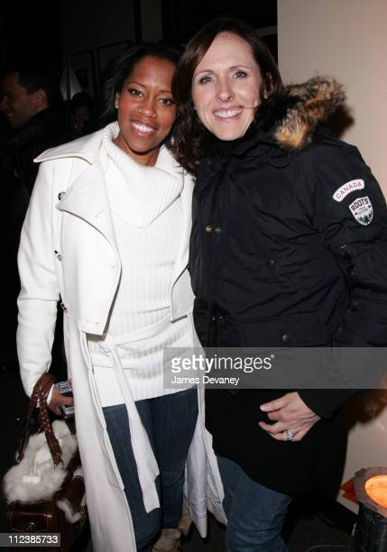 Regina King and Molly Shannon during 2007 Park City Hollywood Life House Year of the Dog After Party at Hollywood Life House in Park City Utah United...