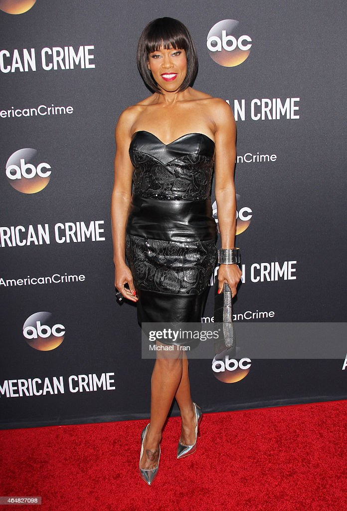 <a gi-track='captionPersonalityLinkClicked' href=/galleries/search?phrase=Regina+King&family=editorial&specificpeople=202510 ng-click='$event.stopPropagation()'>Regina King</a> arrives at the Los Angeles premiere of 'American Crime' held at Ace Hotel on February 28, 2015 in Los Angeles, California.