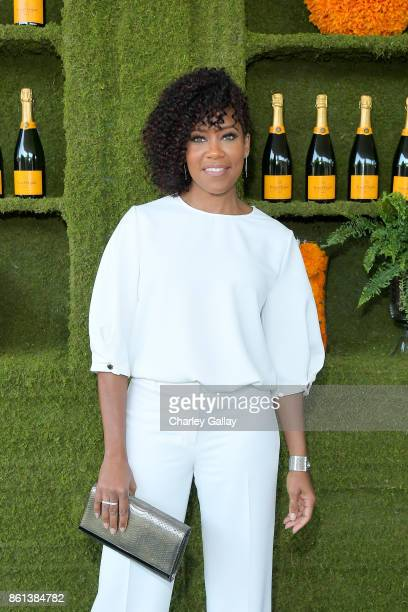 Regina King at the Eighth Annual Veuve Clicquot Polo Classic on October 14 2017 in Los Angeles California