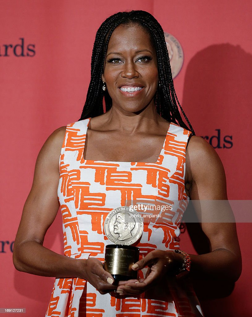 <a gi-track='captionPersonalityLinkClicked' href=/galleries/search?phrase=Regina+King&family=editorial&specificpeople=202510 ng-click='$event.stopPropagation()'>Regina King</a> attends 72nd Annual George Foster Peabody Awards at The Waldorf=Astoria on May 20, 2013 in New York City.