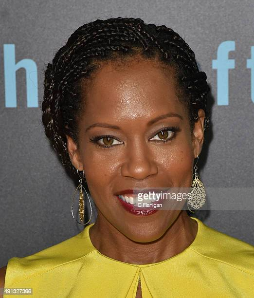 Regina King attends HBO's 'The Leftovers' Season 2 Premiere at Paramount Theatre on October 3 2015 in Austin Texas