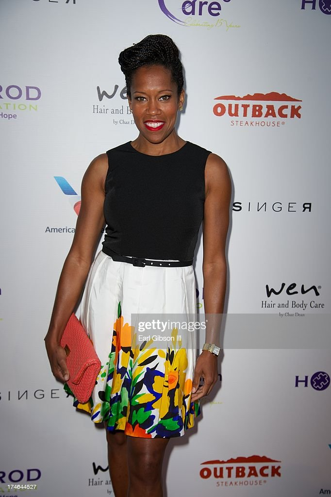 Regina King attends the 15th Annual DesignCare on July 27, 2013 in Malibu, California.