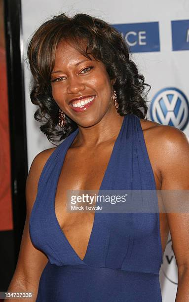 Regina King during 'Miami Vice' Los Angeles World Premiere at Mann Village Theatre in Westwood California United States