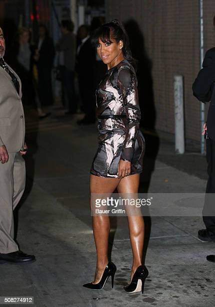 Regina King is seen at 'Jimmy Kimmel Live' on February 03 2016 in Los Angeles California