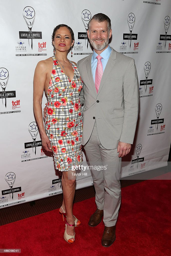 Regina Monte and George Forbes attend the 29th Annual Lucille Lortel Awards at NYU Skirball Center on May 4, 2014 in New York City.