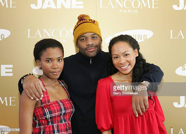 Regina Nehy Damon Dash and Aris Mendoza during 2007 Park City Jane House with Lancome Day 3 at Jane House in Park City Utah United States