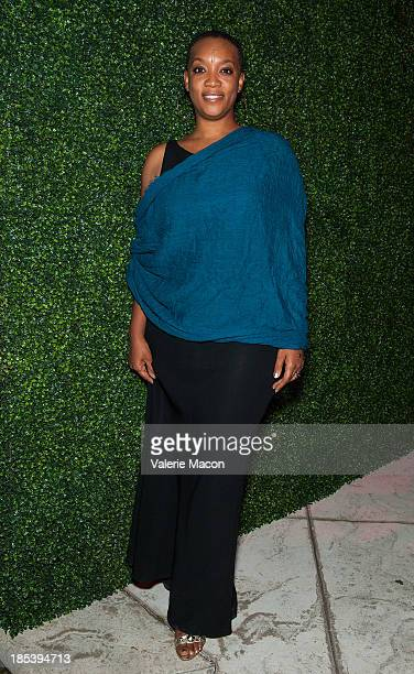 Regina Robertson attends House of Flowers Dinner Honoring Diahann Carroll and Cheryl Boone Isaacs at Tracey Edmonds house on October 19 2013 in...