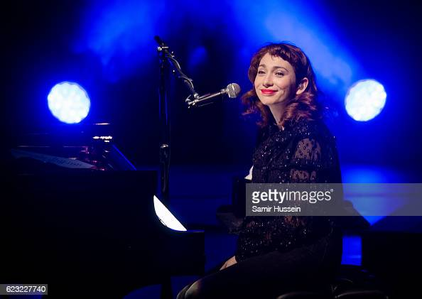 Regina Spektor performs at the Royal Festival Hall on November 14 2016 in London England