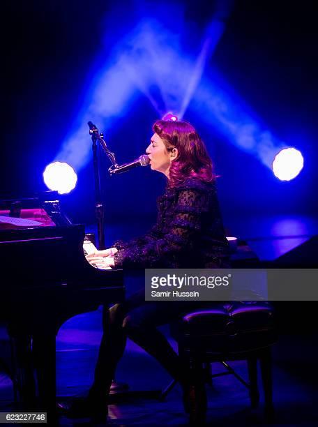 Regina Spektor performs at the Royal Festival Hall on November 14 2016 in London England