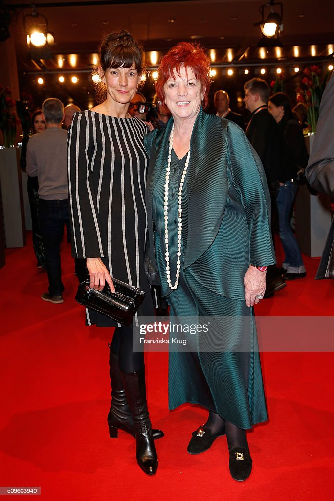 Regina Ziegler (R) and daughter Tanja attend the opening party of the 66th Berlinale International Film Festival Berlin at Berlinale Palace on February 11, 2016 in Berlin, Germany.