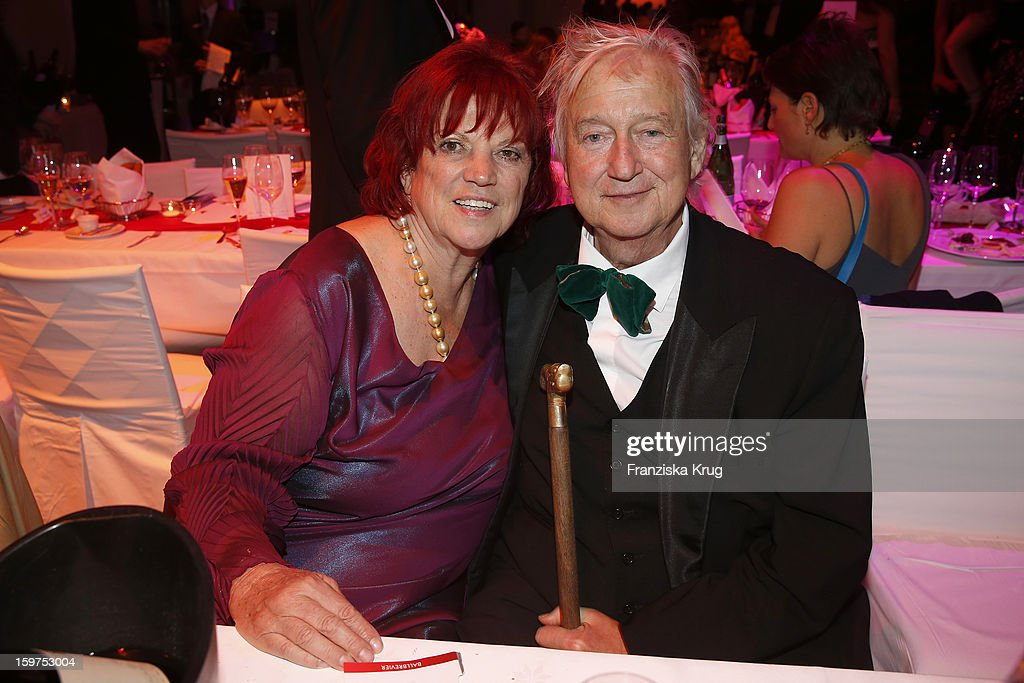 Regina Ziegler and her husband Wolf Gremm attend the Germany Filmball 2013 on January 19, 2013 in Munich, Germany.