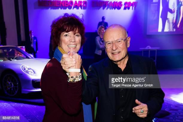 Regina Ziegler and Volker Schloendorff attend the Medienboard BerlinBrandenburg Reception during the 67th Berlinale International Film Festival...