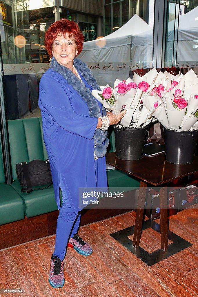 Regina Ziegler attends the Blaue Blume Awards 2016 on February 10, 2016 in Berlin, Germany.