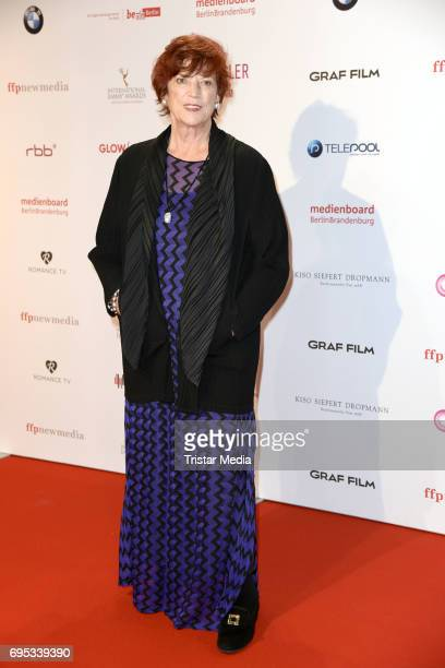 Regina Ziegler attends the cocktail prolonge to the semifinal round of judging of The International Emmy Awards 2017 on June 12 2017 in Berlin Germany