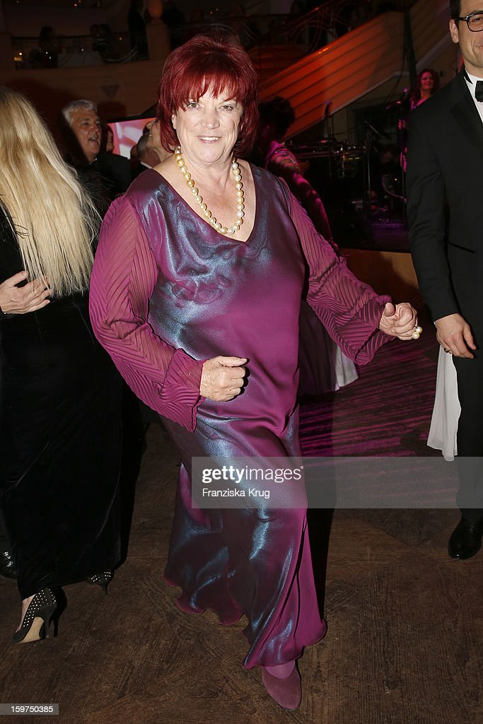 Regina Ziegler attends the Germany Filmball 2013 on January 19, 2013 in Munich, Germany.