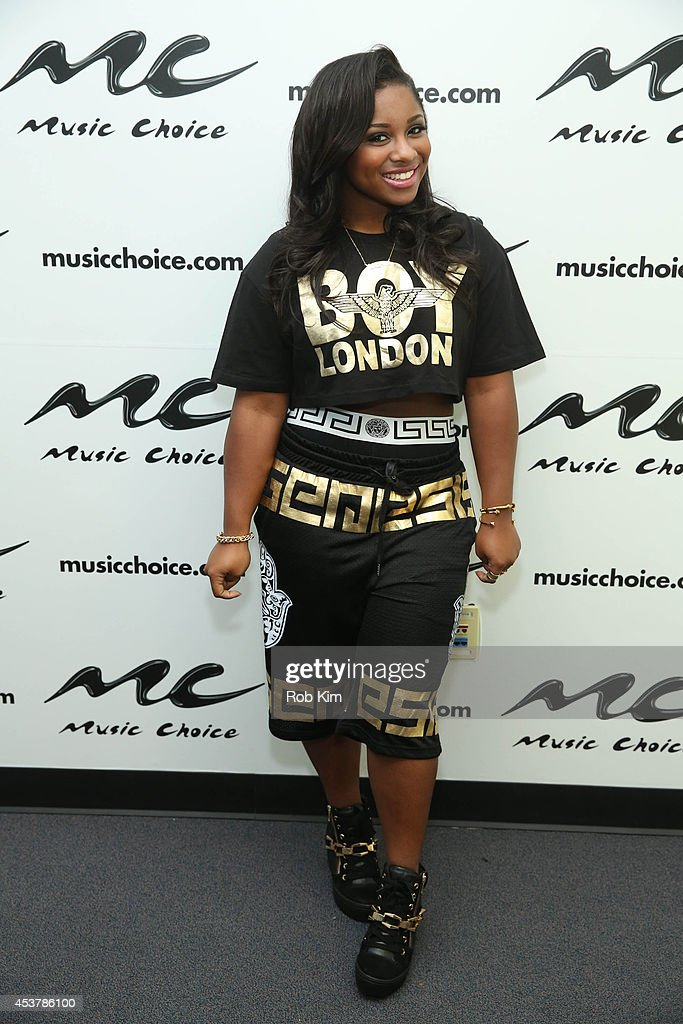 Reginae Carter visits Music Choice on August 18, 2014 in New York City.