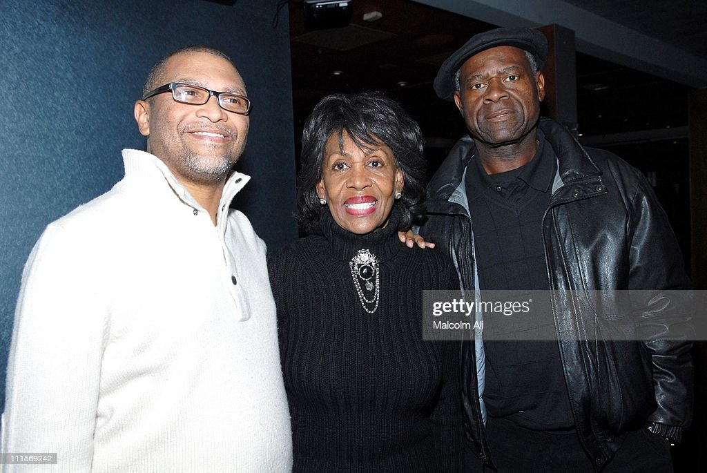 <a gi-track='captionPersonalityLinkClicked' href=/galleries/search?phrase=Reginald+Hudlin&family=editorial&specificpeople=671015 ng-click='$event.stopPropagation()'>Reginald Hudlin</a>, Congresswoman <a gi-track='captionPersonalityLinkClicked' href=/galleries/search?phrase=Maxine+Waters&family=editorial&specificpeople=220525 ng-click='$event.stopPropagation()'>Maxine Waters</a> and Ambassador Sidney Williams