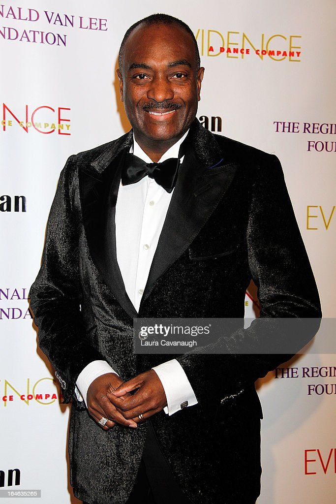 Reginald Van Lee attends the Evidence, A Dance Company 9th annual Torch Ball at The Plaza Hotel on March 25, 2013 in New York City.