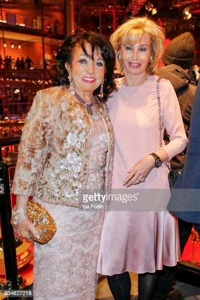 Regine Sixt and Claudia Huebner attend the Audi Lounge Night Audi At The 67th Berlinale International Film Festival on February 9 2017 in Berlin...